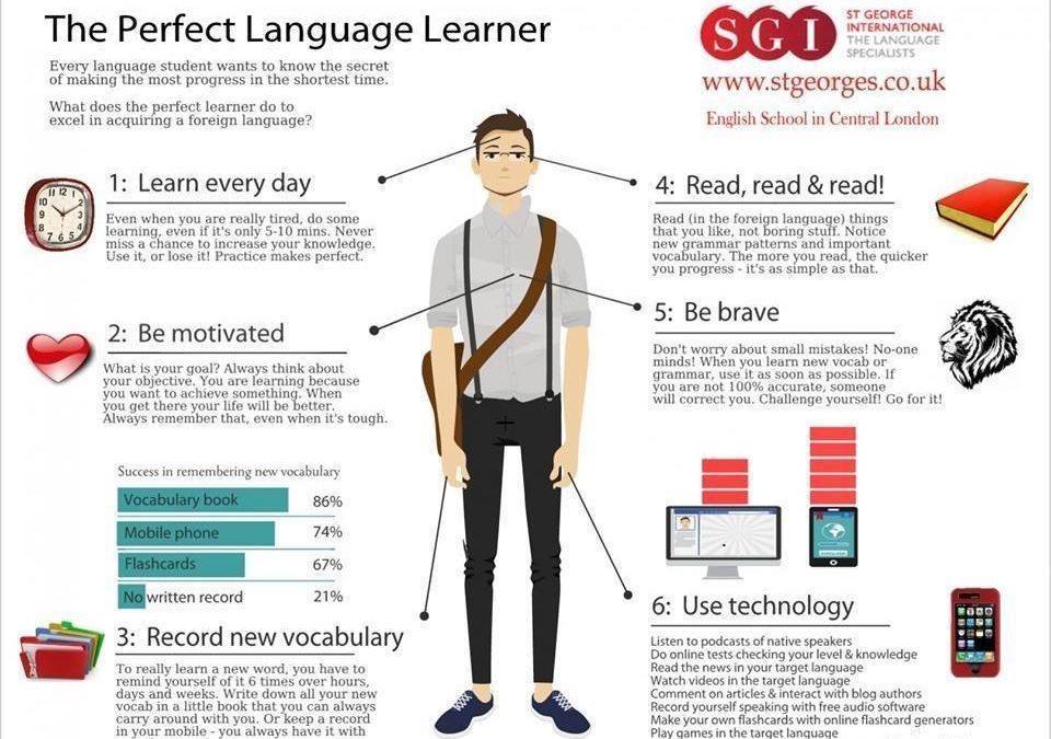 come studiare una lingua con successo