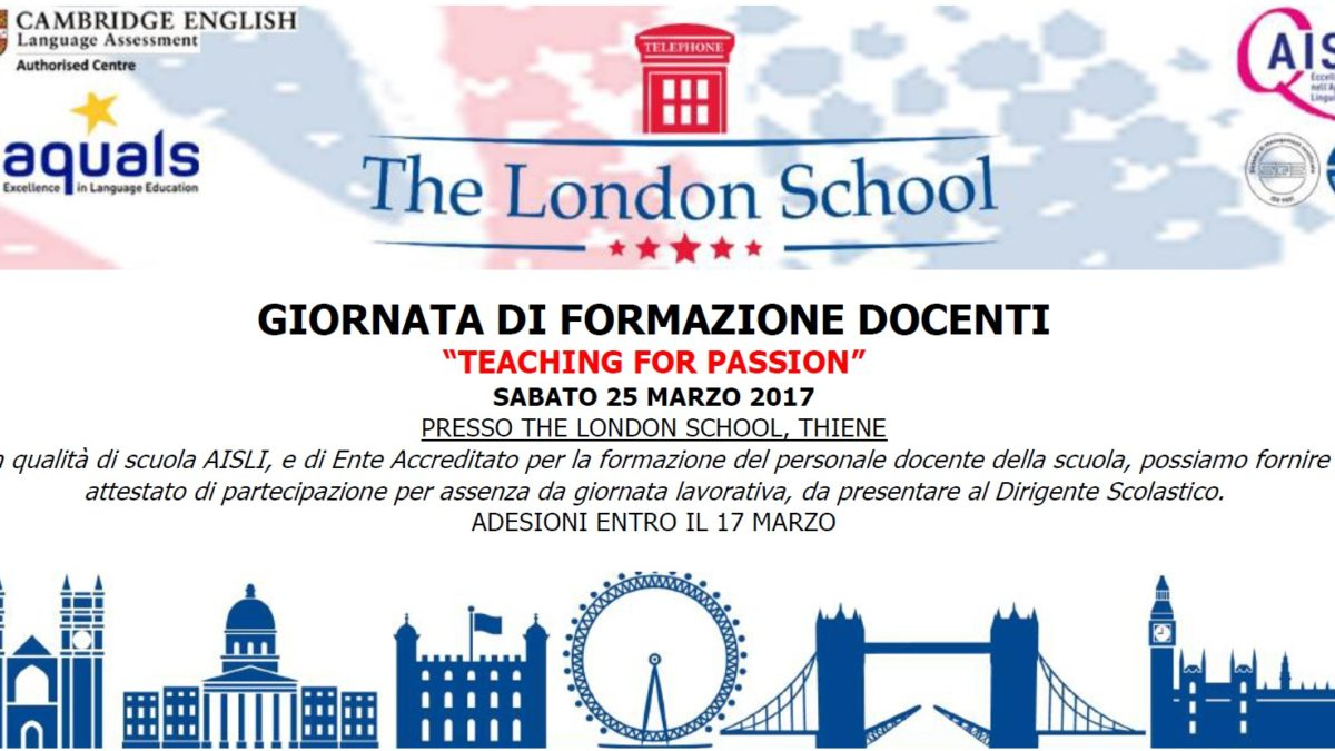 formazione per docenti di inglese