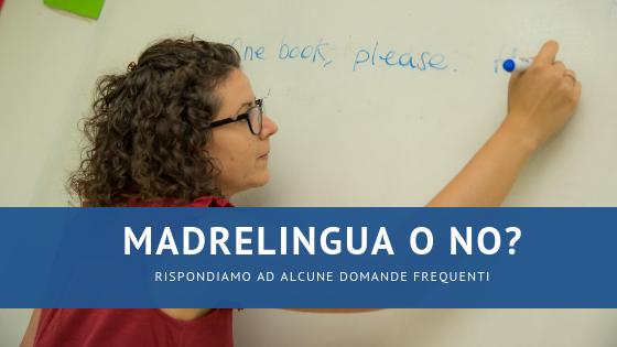 insegnanti madrelingua thiene vicenza