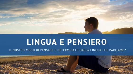 lingua e pensiero