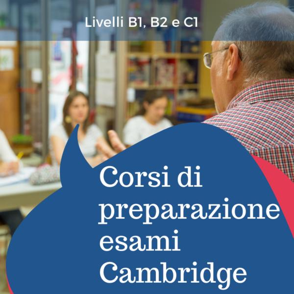 Corso di preparazione Esami Cambridge vicenza