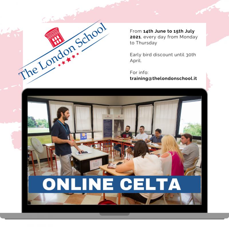 online celta June July 2021
